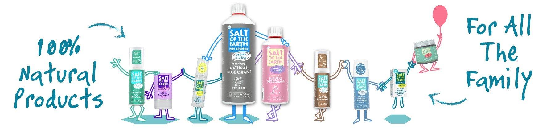 Prírodný deodorant Salt of the Earth